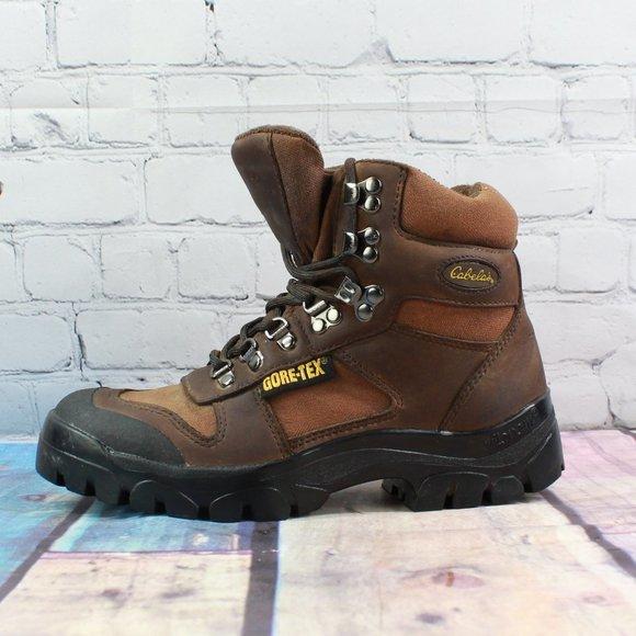 Cabelas Steel Toe Goretex Work Boots